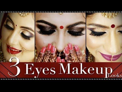 Smokey Eyes Makeup Tutorial Video | Step by Step Classic Bridal Makeup Tutorial | Krushhh by Konica