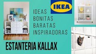 Gambar cover ESTANTERIA KALLAX IKEA: IDEAS BONITAS Y BARATAS