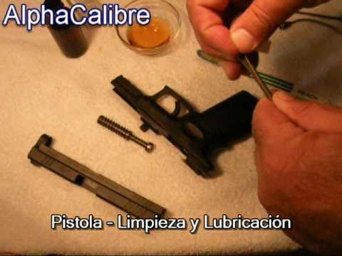 Pistola - Limpieza y Lubricación - Mantenimiento