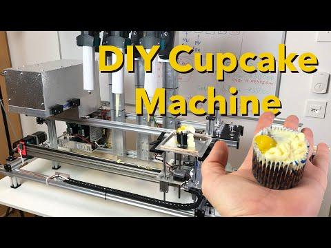 DIY cupcake machine (Arduino cooking robot)