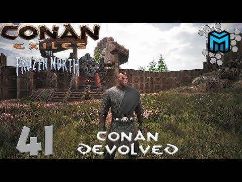 Conan Exiles- The Frozen North (Conan Devolved X03) EP41| More Upgrades!