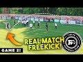 F2 SCORE AMAZING FREEKICK GOAL IN A REAL GAME! F2FC 🔥