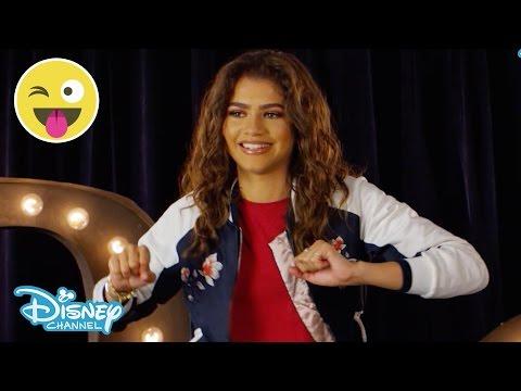 Hula Hoop Challenge | Zendaya | Official Disney Channel UK