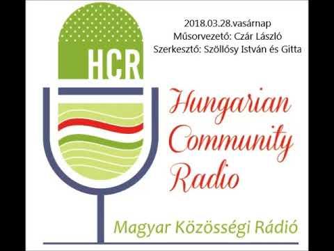 Magyar Kozossegi Radio Adelaide 20180318 Czar Laszlo