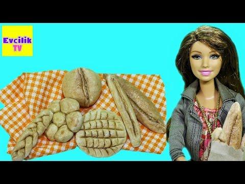 Kendin Yap Bölüm 6 | Barbie bebekler için ekmek nasıl yapılır | Evcilik TV