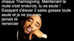2pac Dear Mama  traduction fr