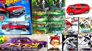 New 2018 Hot Wheels Nova Super T-Hunt, Skyline R30, Pop Culture And Halloween Cars!