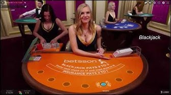 Playing Betsson Live Casino