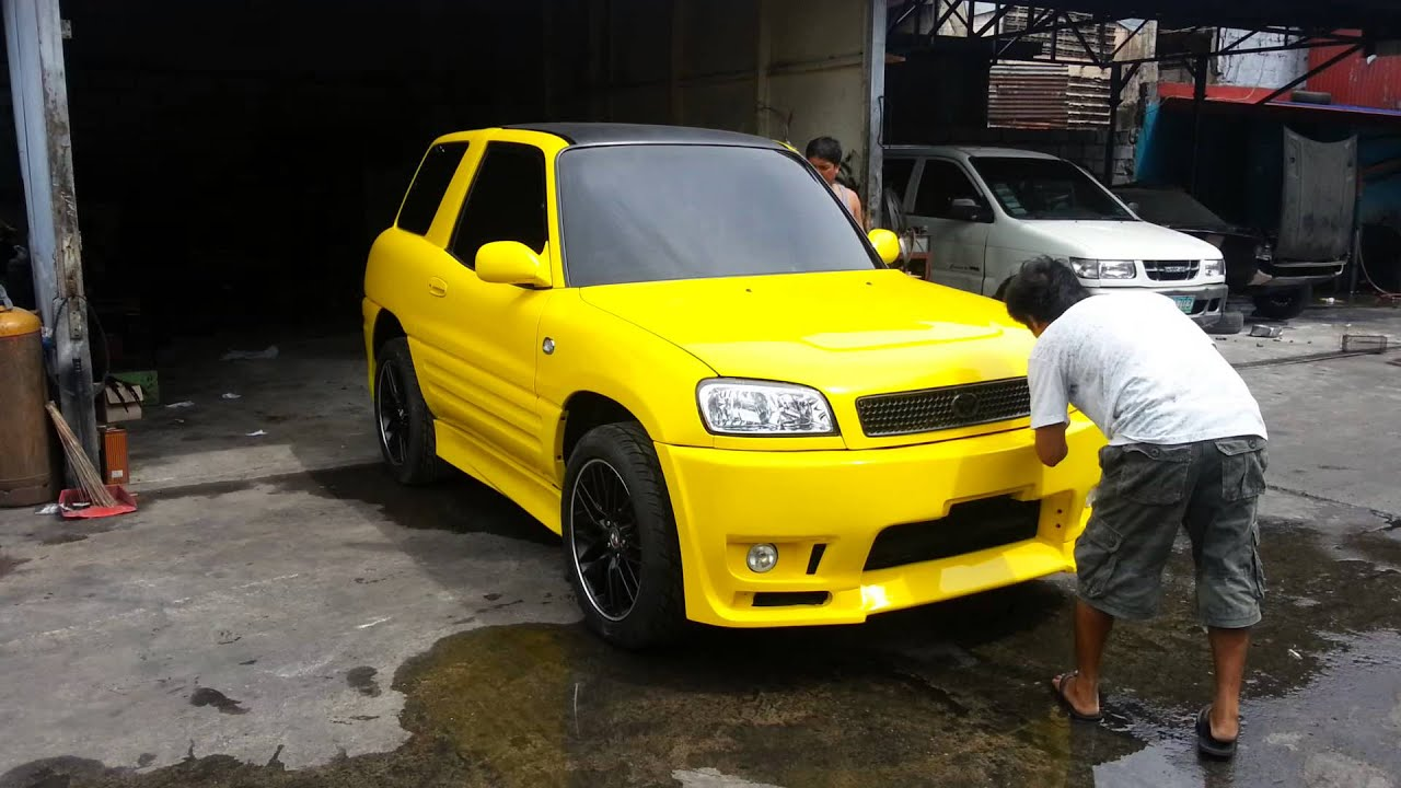 1998 Rav4 Custom >> RAV4 customized by CD Buan - YouTube