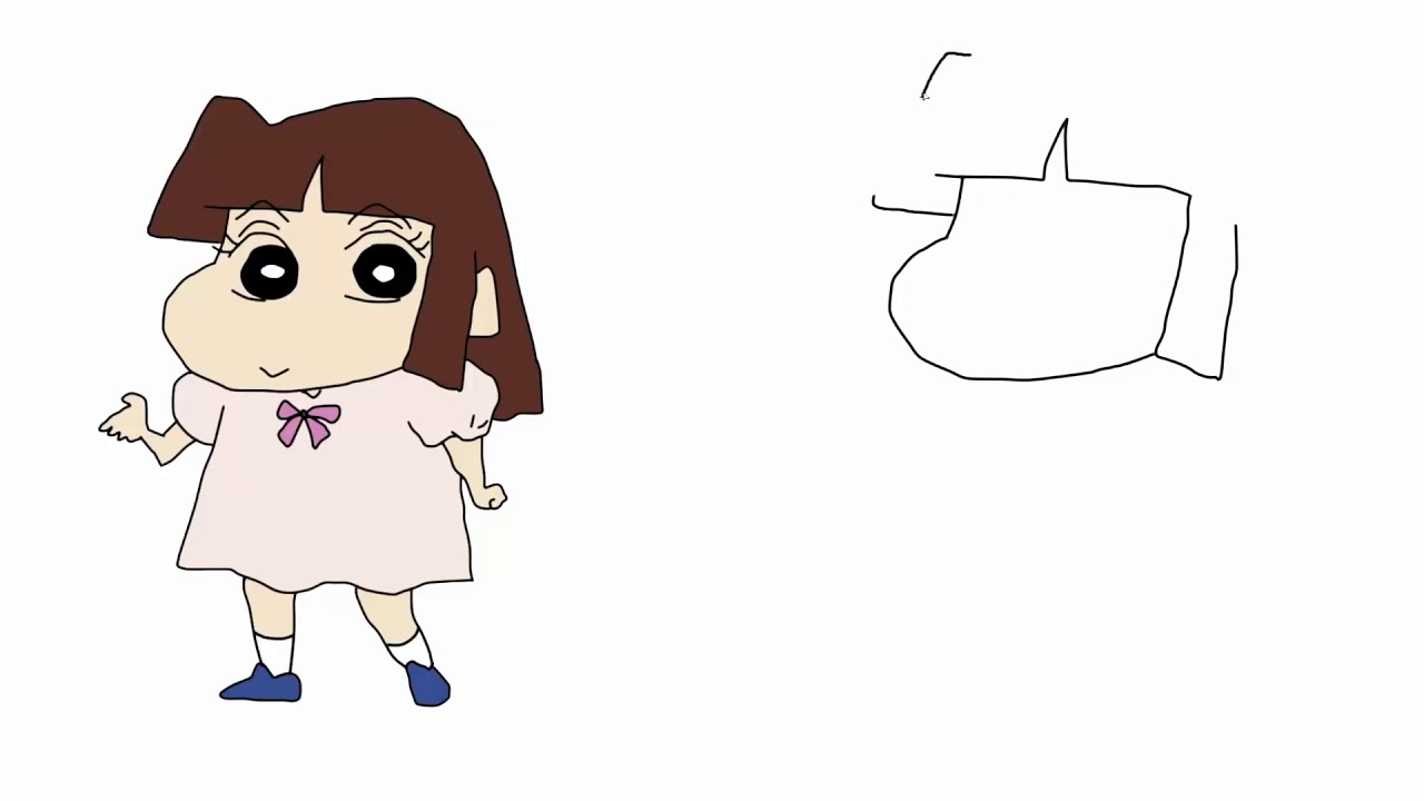 How To Draw All Shinchan Characters Youtube