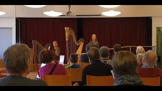 100 hyvää tekoa - Harpistit palvelukeskuksessa