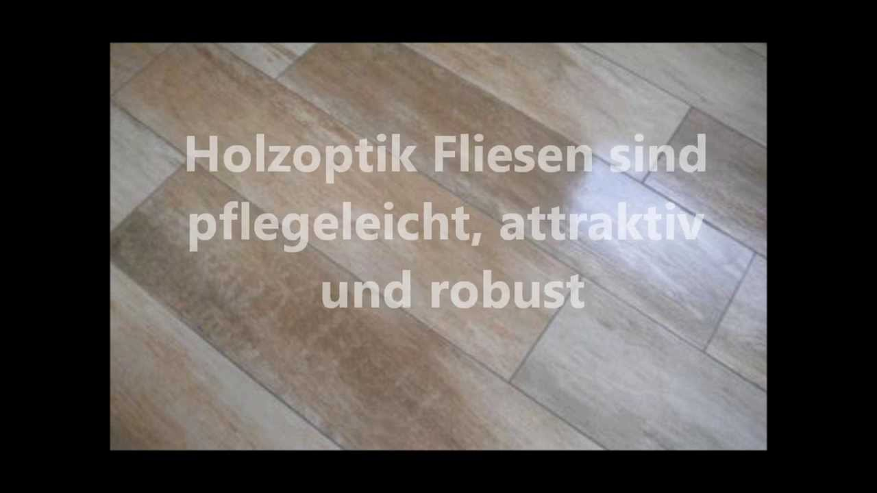 Fliesen In Holzoptik YouTube - Fliesen in laminatoptik verlegen