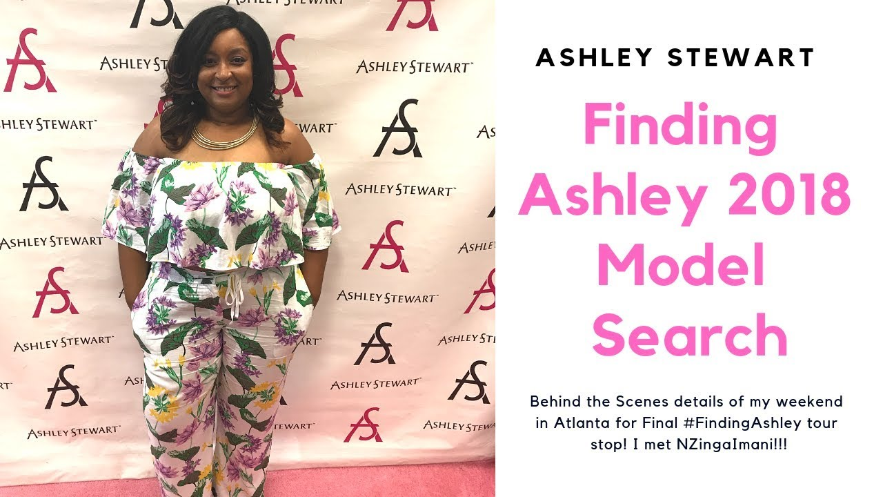 7e68d93a5ad Finding Ashley Stewart Model Search 2018 Plus Fashion Show - YouTube