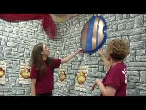 Kingdom Rock Decorating Tour | Vacation Bible School | 2013 Easy VBS | Group