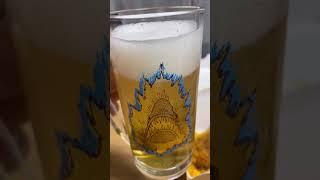 맥주 먹방인척 20년 넘은 컵 자랑하기