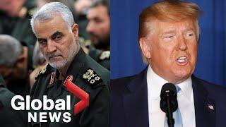 """Iran's Arrest Warrant For Trump Over Killing Of Top General Is A """"propaganda Stunt"""": U.s."""