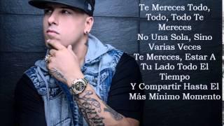 Cuando Te Veo ( Remix ) Nicky Jam Letra Lyrics