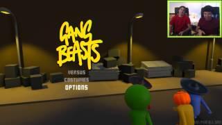 Gang Beasts - PELEA EN EL HIELO! c/ Luzu