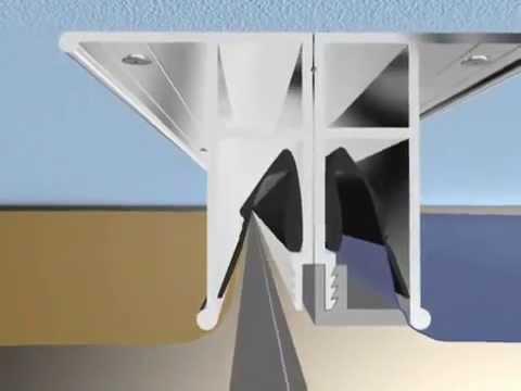 Монтаж  натяжного потолка гарпунной системы крепления