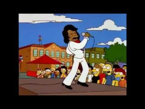 Canciones Simpson 05x07 James Brown  I Feel Good