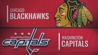 Вашингтон vs Чикаго | Chicago Blackhawks at Washington Capitals | NHL HIGHLIGHTS | НХЛ ОБЗОР МАТЧА
