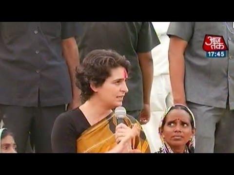 BJP, AAP members cheer for Priyanka Gandhi