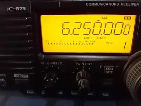 6250 kHz Radio Malabo, Malabo GUINEA EQUATORIAL / Video 2