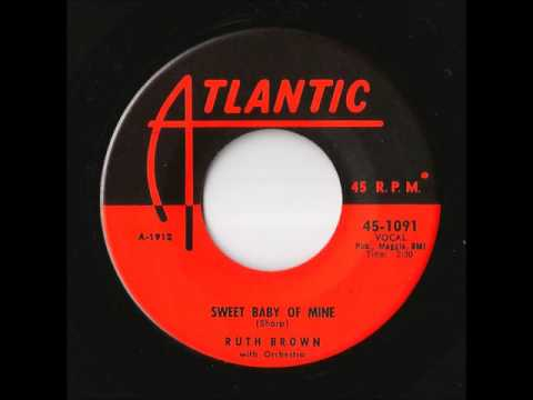 Ruth Brown With Orchestra - Sweet Baby Of Mine (Atlantic)