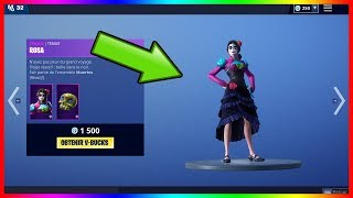 NEW SKIN ROSA ON FORTNITE