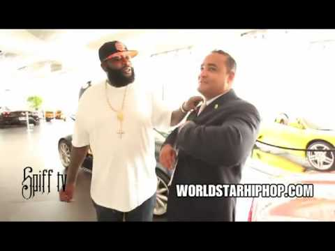 Rick Ross Goes On A $600K Shopping Spree! (New Whip & Black Diamonds Chain)