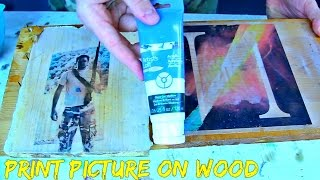 Print Picture On Wood