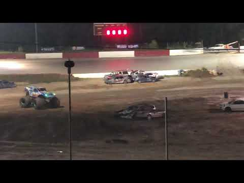The Night the Lights went out in Senoia raceway