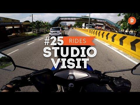 Rojak Rides #25 - Terbang Ke Kelichap Studio