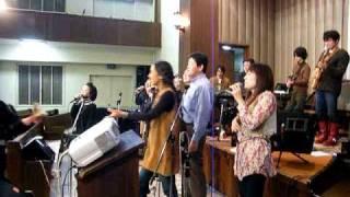 2011.3.5 池ゴスで恒例の誕生日の方を祝う時間に松本優香が登場...