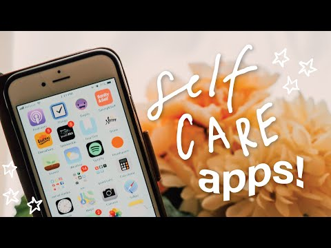 Self Care Apps 2018 | productive + healthy