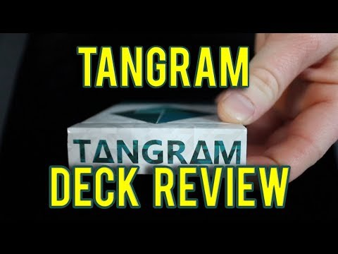 Tangram Playing Cards Deck Review