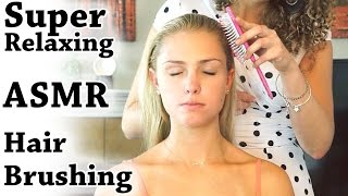 ♥ Soft Spoken Relaxing Hair Brushing & Scalp Massage - 3D Binaural ASMR Ear to Ear Whisper ♥