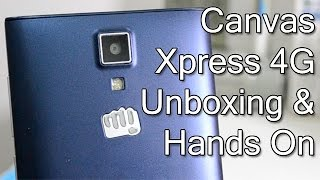 Micromax Canvas Xpress 4G Unboxing And Hands On Review