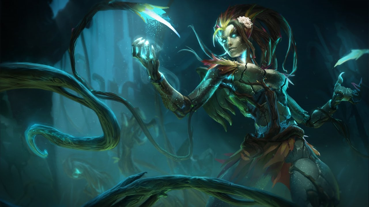 Occult Wallpapers Hd League Of Legends Haunted Zyra Login Theme Youtube