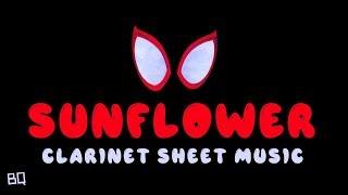 Sunflower Post Malone, Swae Lee Clarinet Sheet Music.mp3