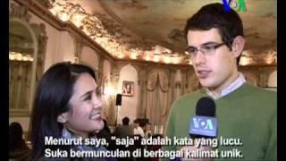 Wisuda Pelajar Bahasa Indonesia di Washington - Liputan Pop Culture VOA untuk Dahsyat