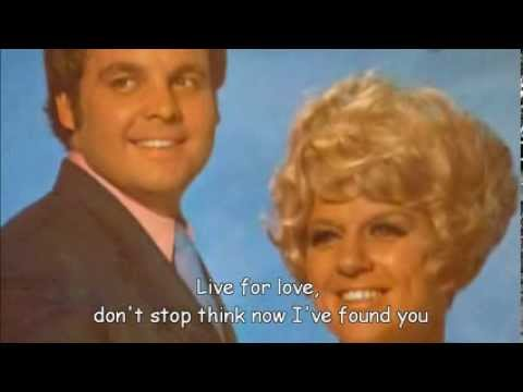Jackie Trent and Tony Hatch - Live For Love (with lyrics)