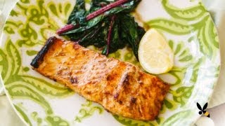 Maple Grilled Salmon Recipe
