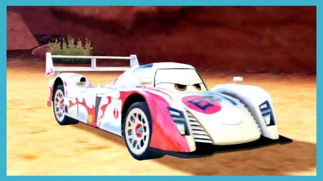 PS3 Cars 2 Game SHU TODOROKI vs CARLA VELOSO Race By ...