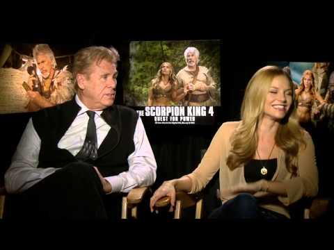 Scorpion King 4: Ellen Hollman & Barry Bostwick Official Movie Interview