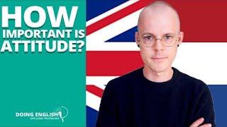 How Important is Attitude for Learning English?