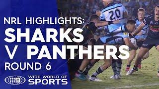 NRL Highlights: Cronulla Sharks v Penrith Panthers - Round 6 | NRL on Nine