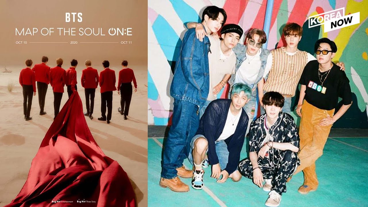 "BTS to hold offline live concert ""Map of the Soul ON:E"" in October"