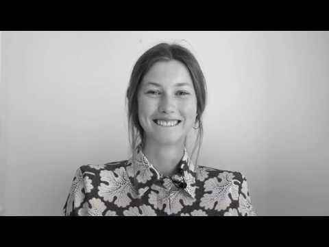 L'Officiel presents the new face Asta Fjeldhagen wearing Fendi