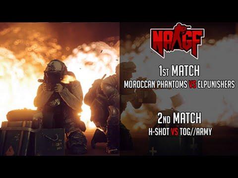 المبارة التامنة H-SHOT VS TOG//ARMY في بطولة NAGF/ Moroccan Friendly CUP